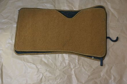 1968-1982 C3 Corvette,Claremont Corvette Floor Mats Beige/Tan Shop Soiled,New